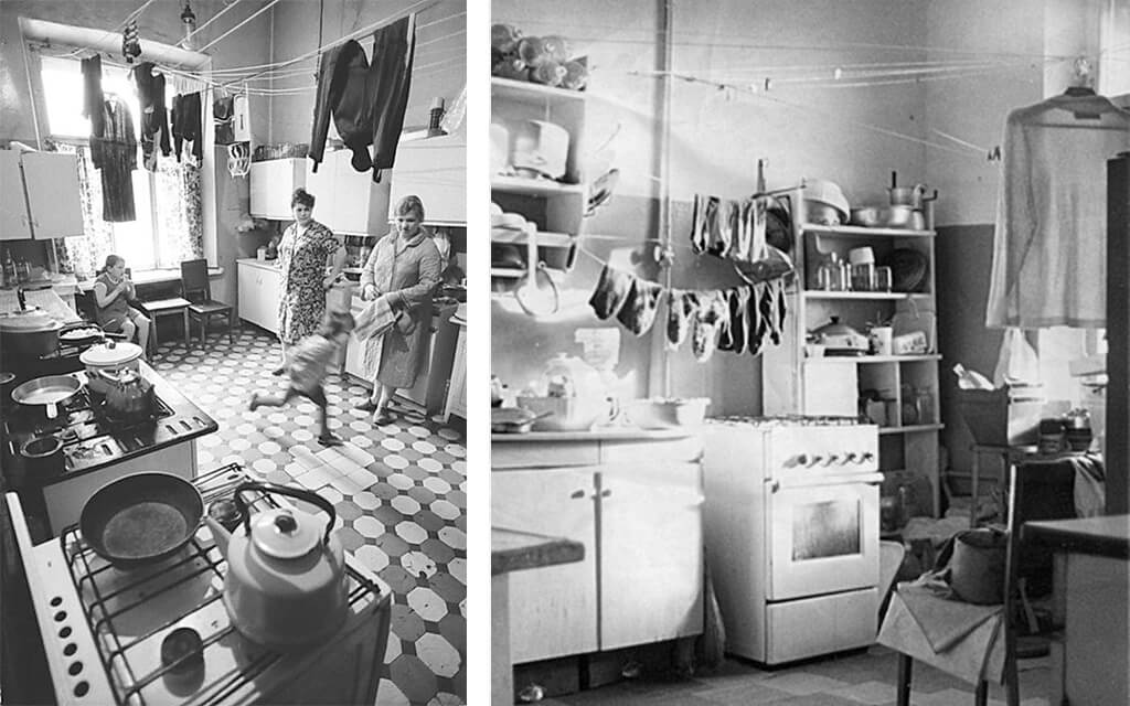 Two sixties kitchen interiors