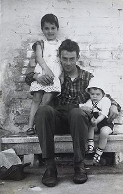 Foto vintage per reference