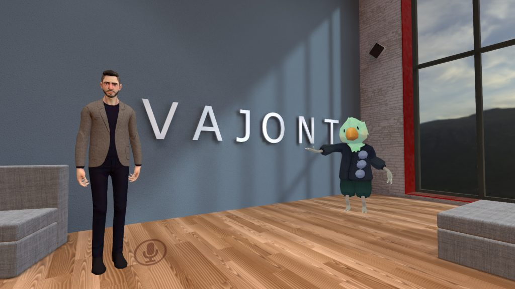 Thomas Iuliano e Alessio Di Lorito on VRChat Vajont avatars